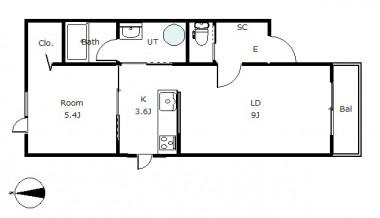 メゾンフォンテーヌ301号室