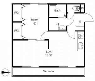 リバティホライゾン 303号室