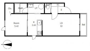 メゾンフォンテーヌ101号室