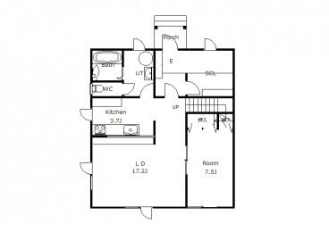 帯広市南の森 リフォーム住宅