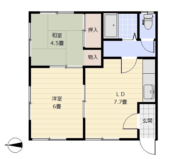 ハイツ瀬野 5号室