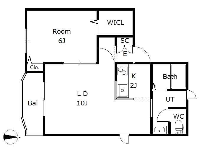 ピュアドルチェ 2-A号室